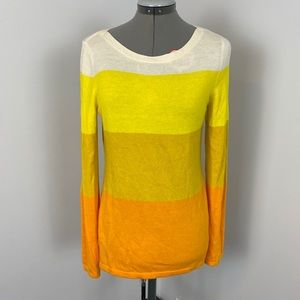Banana Republic Merino Blend Candy Corn Sweater M